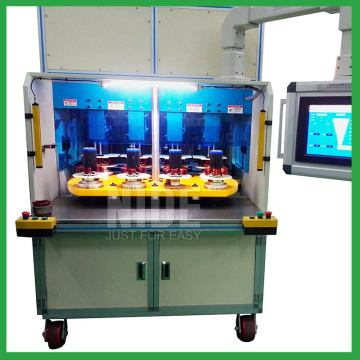 Auto AC induction motor stator coil winding machine