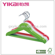 Colorful Wooden Hangers for Kids Clothes