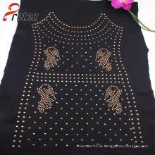 Gold Aluminium Blatt Kleidungsstück Mode Nailheads für Kleidung