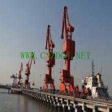 Hafen-Einzelträger-Ausleger-Portalkran