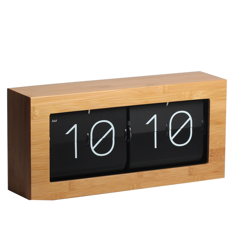 Large Flip Table Clock