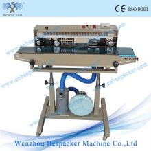 Máquina automática de sellado de bolsas de polietileno continuo