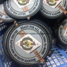 Custom Round Eco-Friendly PVC Coaster for Business Gift