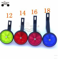 colorful kids Durable Bicycle Training Wheel for 12-20inch children bike