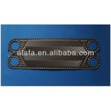 Vicarb V13 related titanium plate for heat exchanger