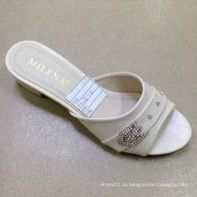 Новый стиль хорошее качество мода Женская обувь PU сандалии (JH160523-7)