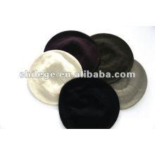 casquettes en tricot de Cachemire de câble, chapeaux