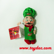 Plüsch Werbung Puppe Schlüsselanhänger