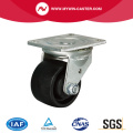 3 Zoll 280Kg Plate Swivel PA Machine Caster