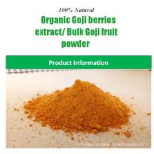 China Lieferant natürliche 100% Goji-Beere Pulver zertifiziert Bio-Goji-Beeren-Extrakt