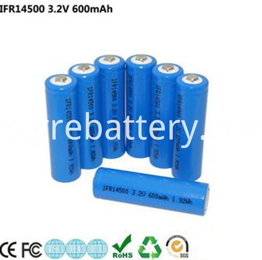 Lithium AA Rechargeable Batteries