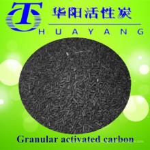 1000 valores de iodo 85% CTC filtro de ar de carbono ativado