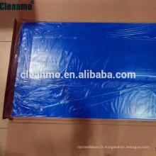Tapis adhésif collant pelable de salle blanche de plancher de LDPE (chaud) collant jetable / tapis collant