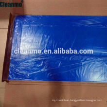 (Hot)Peelable Adhesive LDPE Floor Sticky Cleanroom Disposable Tacky/sticky Mat
