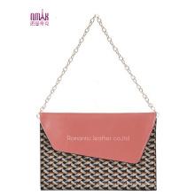 Candy-Color Straw Bags Tote Handbags (NMDK-B1009)