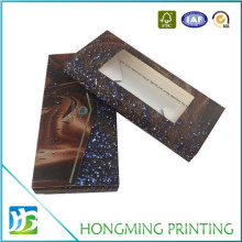 Color Print Paper Chocolate Bar Packaging Box