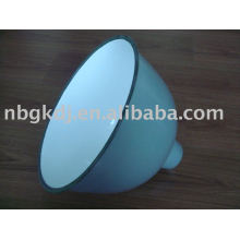 enamel lamp shades with green and white color