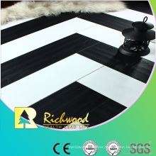 12.3mm E0 HDF AC4 Embossed Beech Waxed Edged Laminated Floor