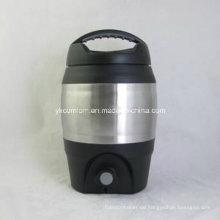 3,6 Liter Kunststoff Bierfass mit Ausgießer