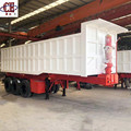 3 Axle 60Ton Hydraulic Dump Semi Trailer