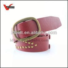Fashion eco-friendly fashion harness leather belt