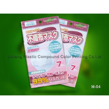 Plastic Mask Packaging Bag