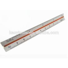 "6 ""metal triângulo de alumínio Ratio Scale Ruler"