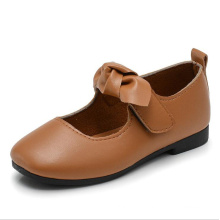 Hot selling Wholesale pu shoes led for kids leather shoes girl shoe
