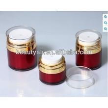 Round Acrylic Airless Cream Jar
