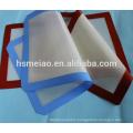 Easy clean silicone baking mat Reusable FDA Grade Grill and Fiberglass Custom Non-Stick silicone heat resistant pan mats