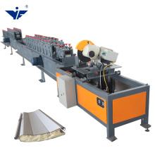 Shutter Door and Door Frame Steel Profile fiber shutter door making machinery