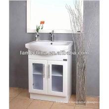 2013 New Arrival Popular Wood Veneer Bathroom Vanity Cabinet