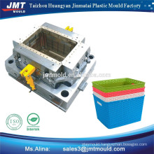 high quality household products plastic waste basket mould plastic factory price