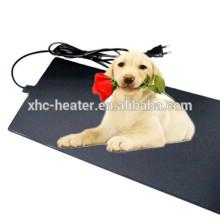 Almofada de aquecimento elétrica impermeável do cão do PVC