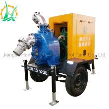 Emergency Self-Priming Diesel Water Pump with Rain Cover