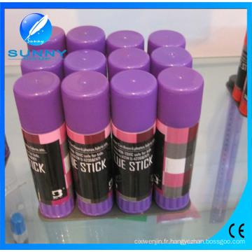 Bâton de colle PVC violet de haute qualité, bâtons de colle chaude colorés