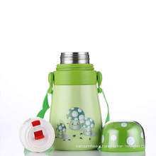 Double Wall Vacuum Stainless Steel Outdoor Flask Svf-400j Children Green
