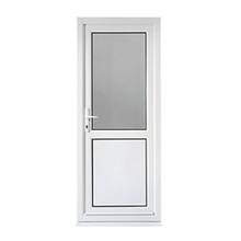 Plastic Casement Window Profile For PVC Bathroom Door