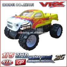 échelle 1/5 2WD RC modèles réduits d'automobiles, marque VRX, Monster Truck Made in China
