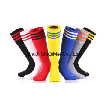 Fabricante OEM servicio Terry y calcetines de fútbol llano modificado para requisitos particulares