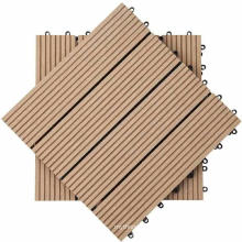 China manufacturer DIY wpc decking wooden floor