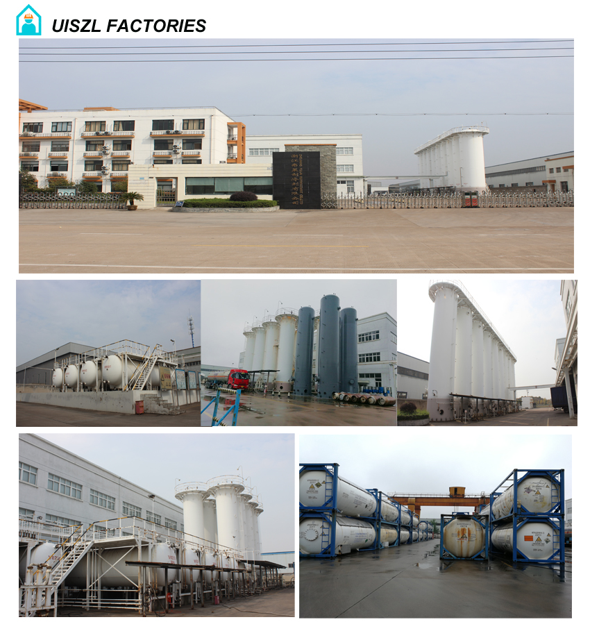 Refrigerant gas Factory