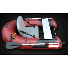 Barco de pesca inflável individual com novo projeto de 2014