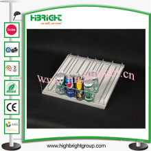 Auto-Feed Roller Shelf Pusher System