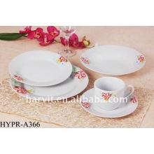 20pcs royal design dinner sets/colourful dinner sets/porcelain dinner set