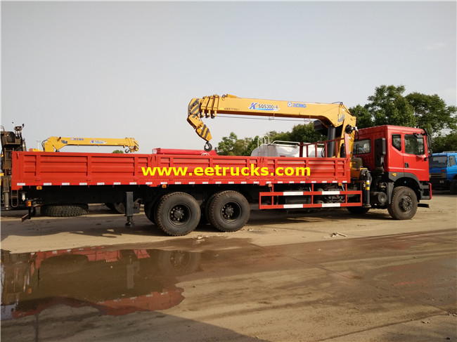 16ton Truck with Crane