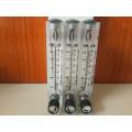 Panel montiert Acryl Flüssigkeit Durchflussmesser mit Regelventil