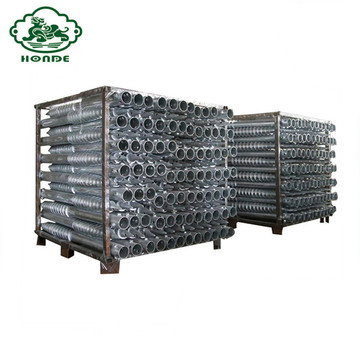 Hot Dip Galvanized Helical Screw Pile Untuk Taman