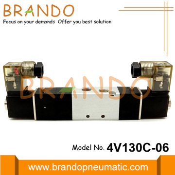 4V130C-06 5 Way 3 Pneumatic Solenoid Valve