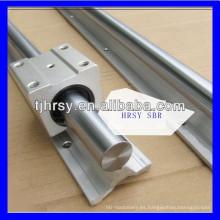 Aluminio Guía lineal SBR30